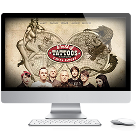 PixelstoLife - Featured Design - World of Tattoos