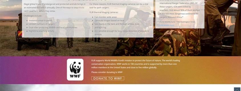 FLIR WWF Anti Poaching Campaign